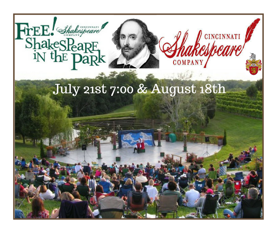 Free Shakespeare in the Vineyard
