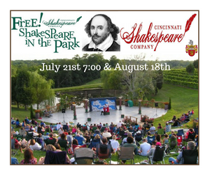 Free Shakespeare in the Vineyard