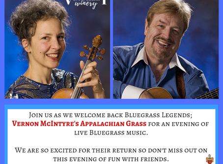 Bluegrass Wednesdays &              Spaghetti & Meat Balls.