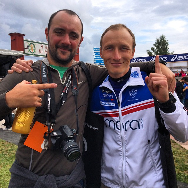 Instagram - My friend Roman Ryapolov is the win 1-st UltraVasa45 with time 2:49: