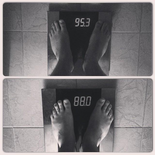 "Instagram - ""Ноги Хоббита"" или ""Как за две недели скинуть 7,5 кг"" #желтогоулыбну"