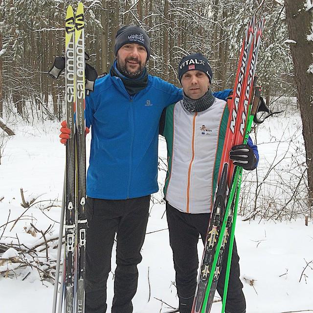 Instagram - #желтыйвспорте с элитой Белгородской области по лыжным гонкам ;) #же