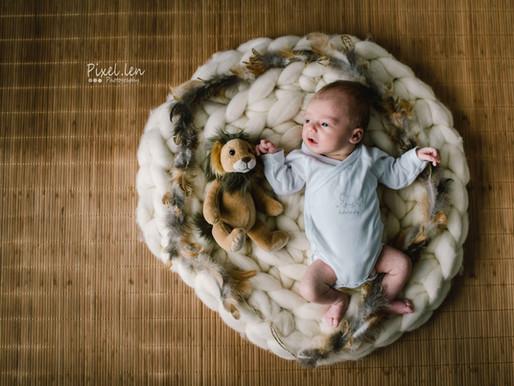 Séance bébé au studio Ellen Teurlings/ Pixel.len Photography