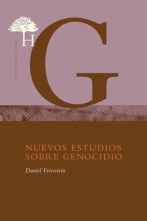 Nuevos estudios sobre genocidio COVER 20