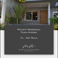 Projeto Residencial Plaza Athenee