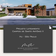 Projeto Loteamento Campos de Santo Antônio II