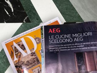 A COZINHA À MEDIDA. AEG - AD PARA SCICTAYLOR MADE KITCHEN AEG – AD FOR SCIC