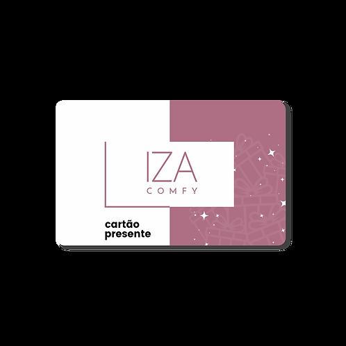 Cartão presente Iza Confy R$ 150,00