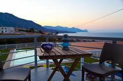 b&b casa azul panoramic terrace