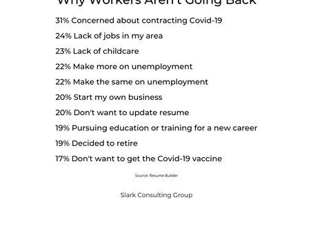 Why Workers Aren't Looking For Jobs