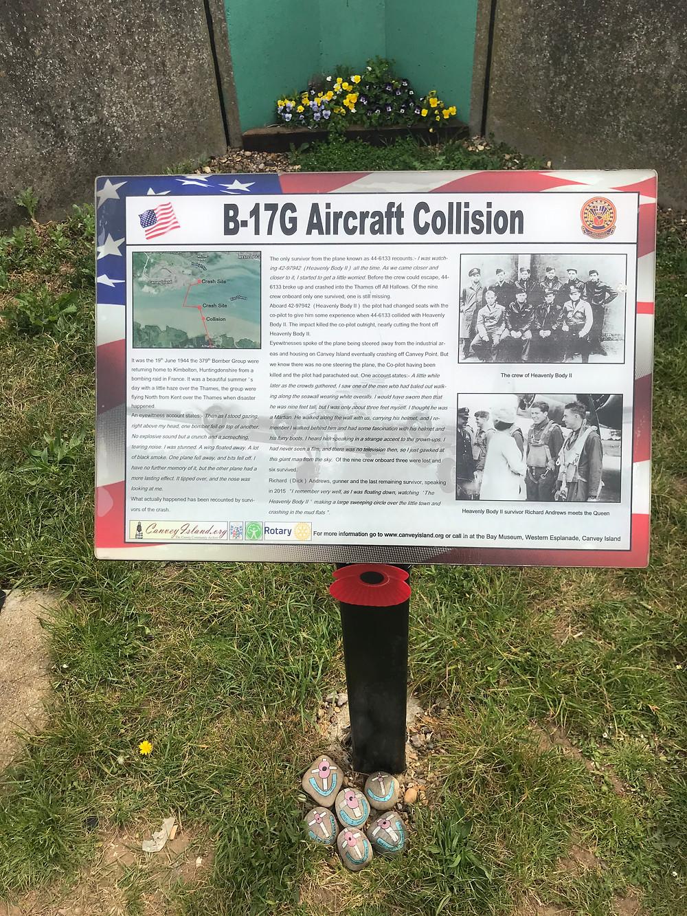 Canvey B17 Memorial