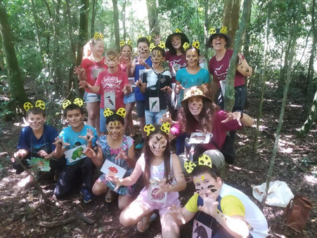 Curicaca leva ao PE do Turvo vivências na natureza com crianças de Derrubadas