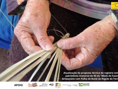 Artesanato com palha de butiá da região de Torres poderá ser patrimônio cultural imaterial do RS