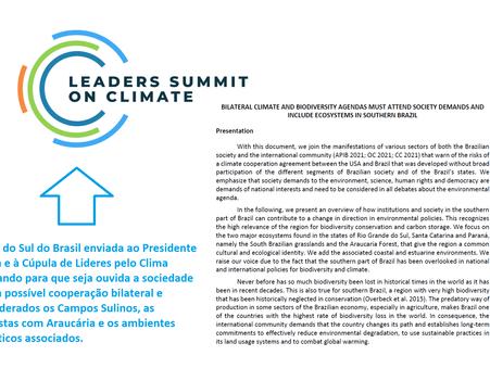 Agendas bilaterais de Clima e Biodiversidade devem atender a sociedade e incluir ecossistemas do Sul