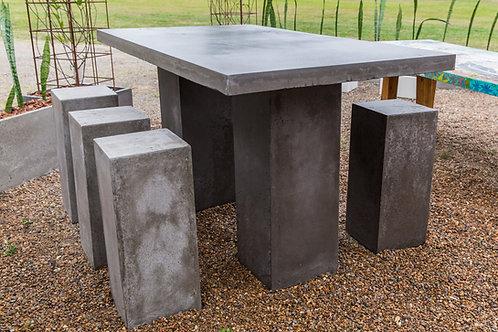 Concrete Bar Table Concrete Legs