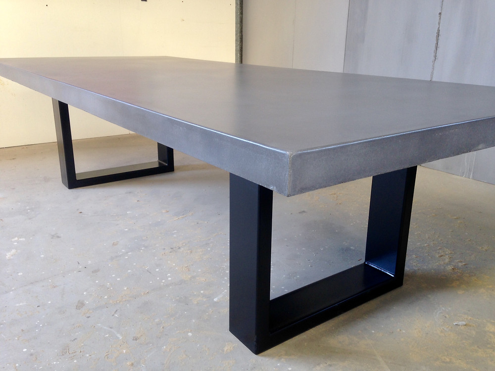 Concrete Outdoor Dining Table