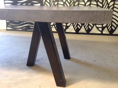 Bespoke Concrete Dining Tables
