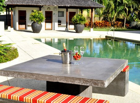 Outdoor Concrete Furniture