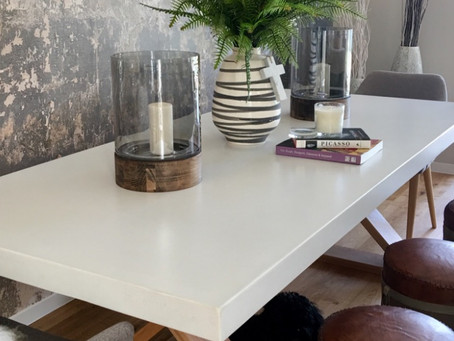 Why are concrete dining tables better than wooden ones?