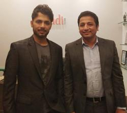 With Anupam Mittal, Founder, Shaadi.com.