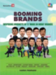 Booming Brands, BookMyShow, Shaadi.com, BYJU'S, Arunachalam Muruganantham - Pad Man, Goli Vada Pav, Paper Boat, FirstCry, Zomato, Pagalguy,Su-Kam, Elephant Design, Harsh Pamnani, Ashish Hemrajani, Anupam Mittal, Kunwer Sachdev, Supam Maheshwari, Neeraj Kakkar, Ashwini Deshpande, Allwin Agnel, Deepinder Goyal, Venky Iyer, Harsh Mariwala, RonnieScrewvala, Indian Brands, Made in India, Book on branding, brand building, marketing