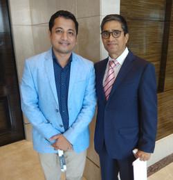 With Kunwer Sachdev, Founder, Su-Kam