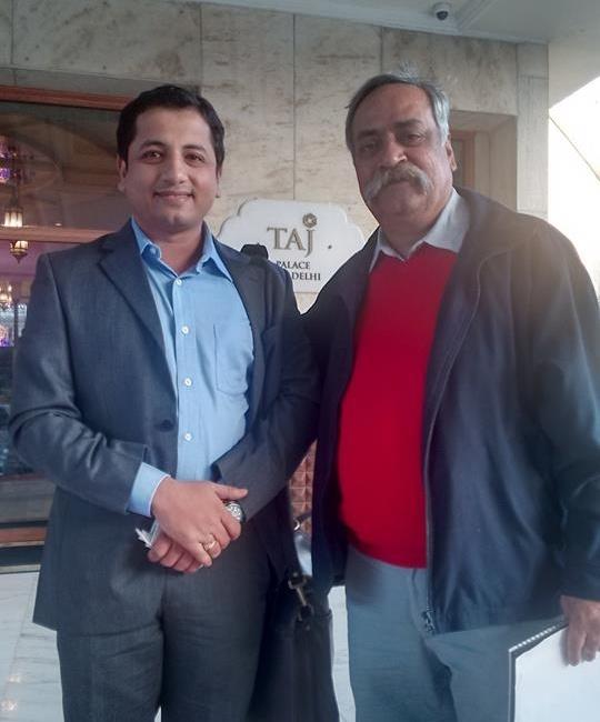 With Piyush Pandey, Chairman, Ogilvy & M