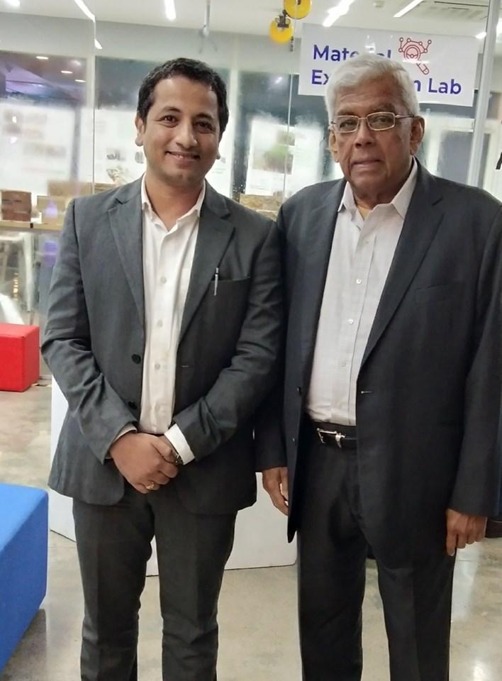 With Mr. Deepak Parekh