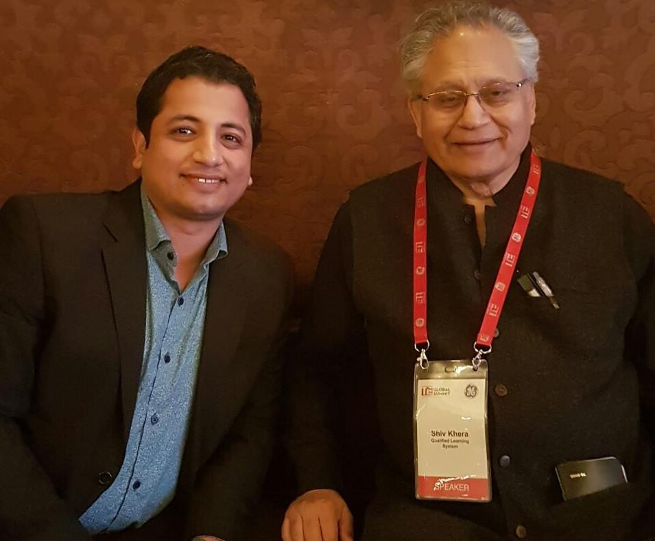 With Shiv Khera, Author, You Can Win