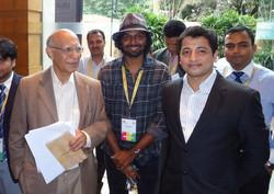 With Ashok Soota, Co-founder, Mindtree a