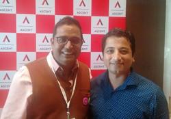 With Vijay Shekhar Sharma, Founder, Payt
