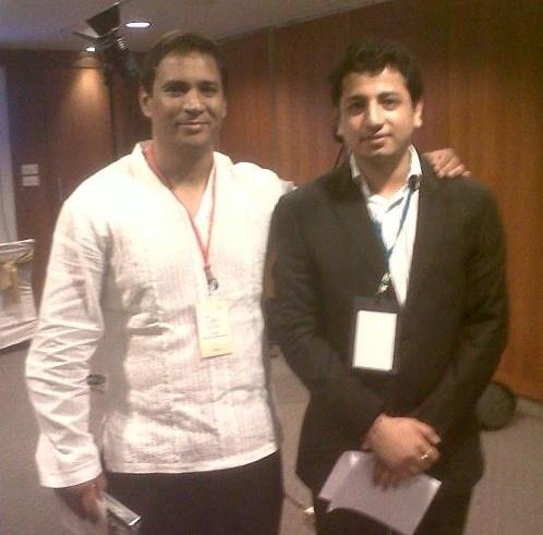 With Vineet Rai, CEO, Aavishkaar Venture