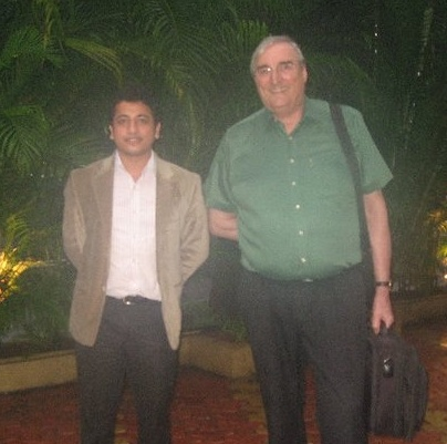 With Prof. Patrick Turner, INSEAD