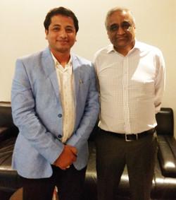 With Kishore Biyani, CEO, Future Group
