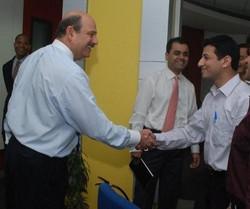 With Barry Salzberg, Former CEO, Deloitt
