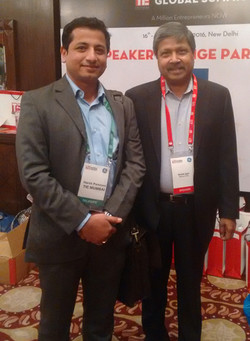 With Krish Iyer, President and CEO, Walm
