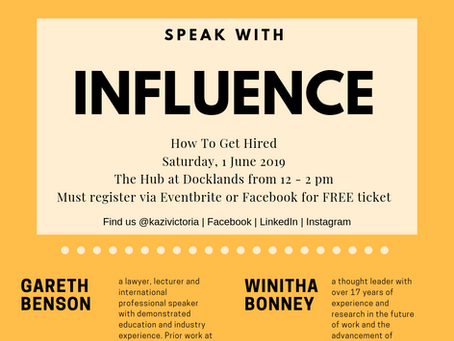 How To Get Hired: Speak With Influence