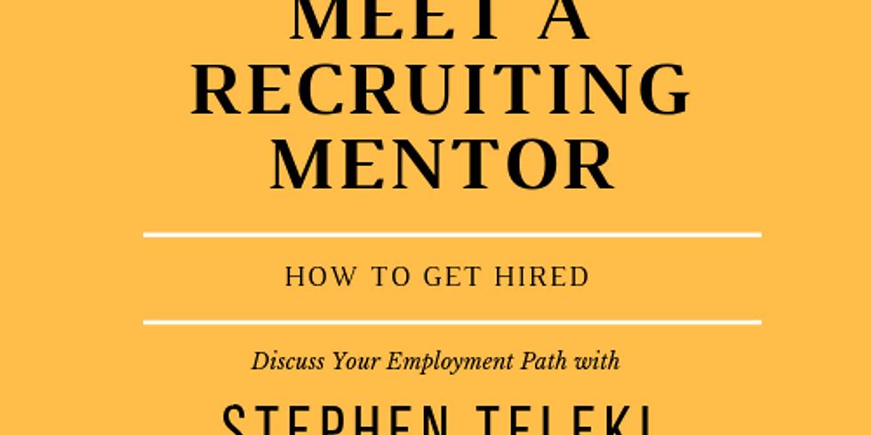 Meet a Recruiting Mentor