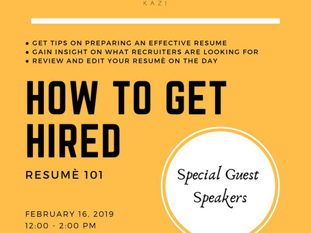 How To Get Hired: Resume Writing