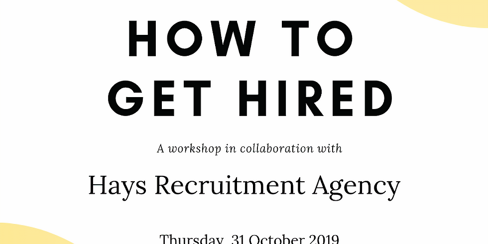 How To Get Hired: Resume Writing with Hays x Kazi