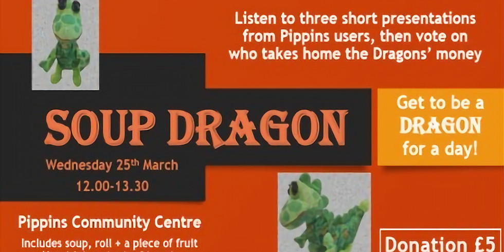 Pippins 'Soup Dragon' community lunch