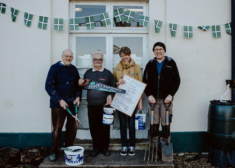Maintenance team volunteering Axminster