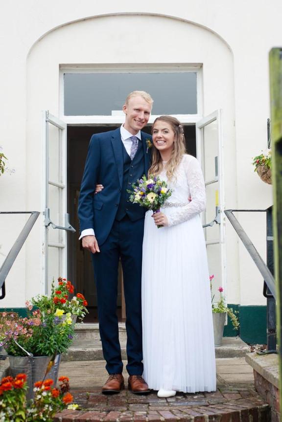 Wedding reception venue Axminster