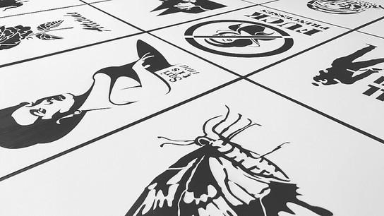 Plantillas stencil 👩🏽🎨👨🏼🎨