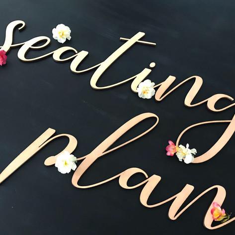 Cartel seating plan