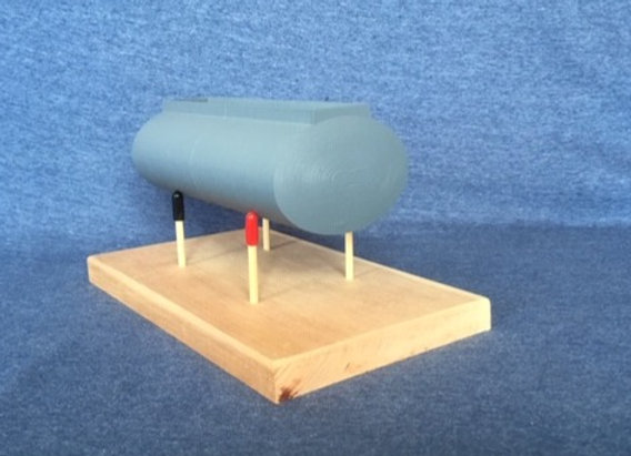 8 inch Pup Fuel Tank