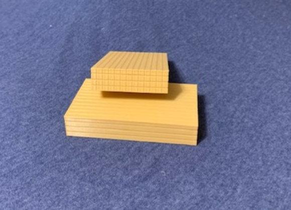 "Bundle of 8'x4""x4"" wood posts (set of 2)"