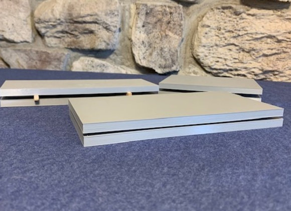 """""""Steel plates"""" (set of 6) 2 of each size plate"""