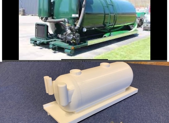 Roll-Off Vacuum Tank/Pumper with Accessories