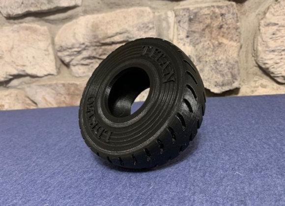 Single TITAN mining tire